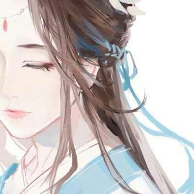 古风动漫女生仙气飘飘头像_WWW.QQYA.COM