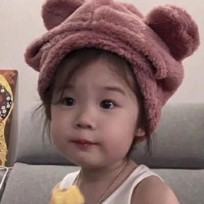 女生萌娃可爱头像萌翻了_WWW.QQYA.COM
