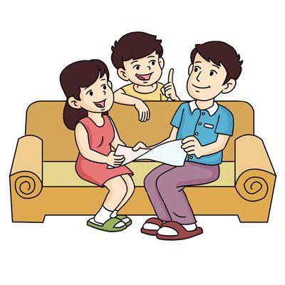 一家三口卡通头像超萌_WWW.QQYA.COM