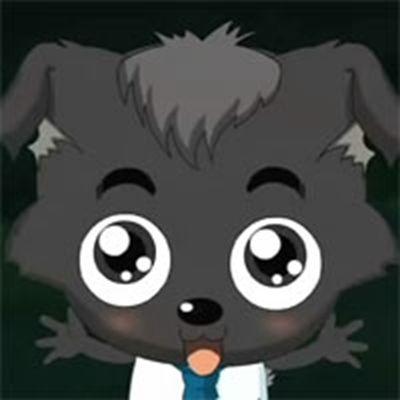 小灰灰微信头像图片_WWW.QQYA.COM