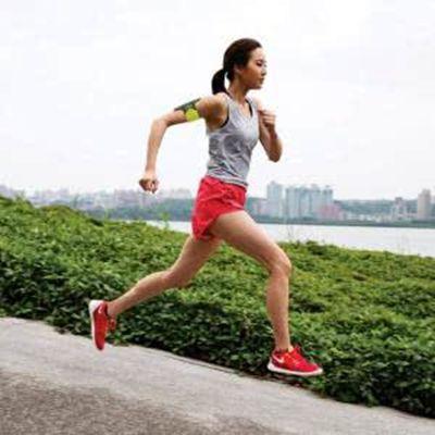 跑步头像女生图片大全_WWW.QQYA.COM
