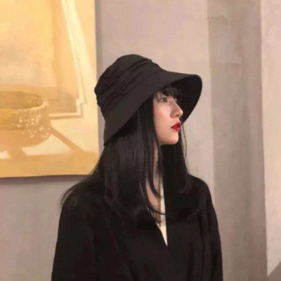 侧脸头像女生唯美高清_WWW.QQYA.COM