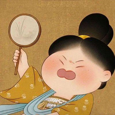 胖女孩古风头像_WWW.QQYA.COM