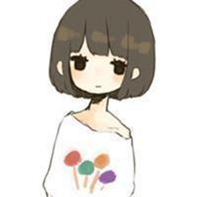 短发卡通头像女_WWW.QQYA.COM