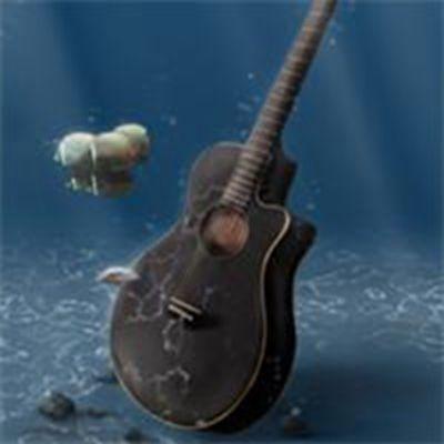 唯美吉他头像图片_WWW.QQYA.COM