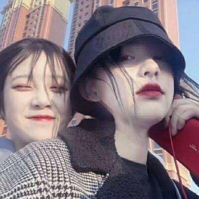 女生朋友头像2人_WWW.QQYA.COM