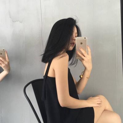 女生头像侧面背影气质_WWW.QQYA.COM