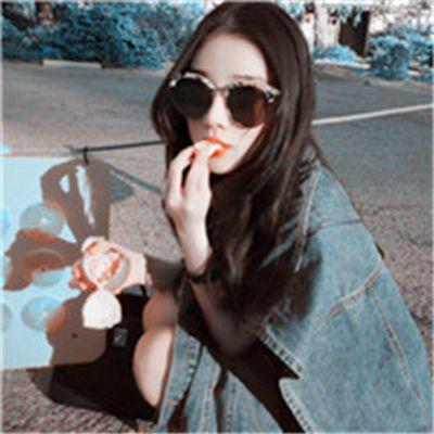 戴墨镜的美女头像_WWW.QQYA.COM