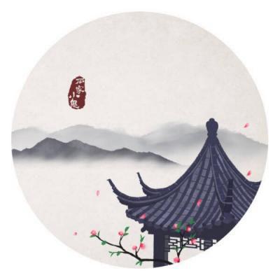 水墨画头像古风_WWW.QQYA.COM
