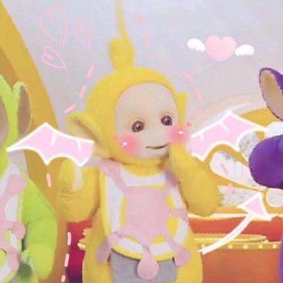 高清可爱的黄色天线宝宝拉拉图片头像精选_WWW.QQYA.COM