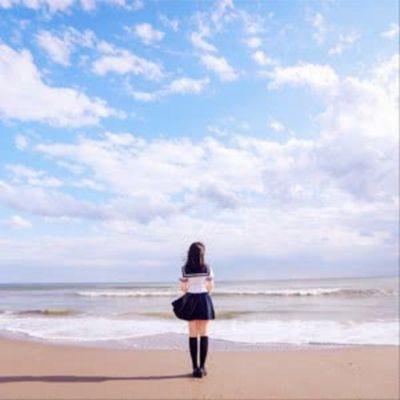 微信头像大海风景与人_WWW.QQYA.COM