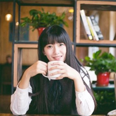 女生喝咖啡头像图片大全_WWW.QQYA.COM