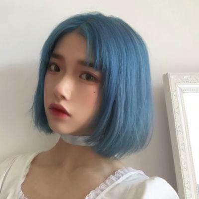 彩色头发女生图片头像_WWW.QQYA.COM