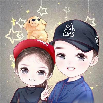 妈妈和女儿的卡通头像_WWW.QQYA.COM