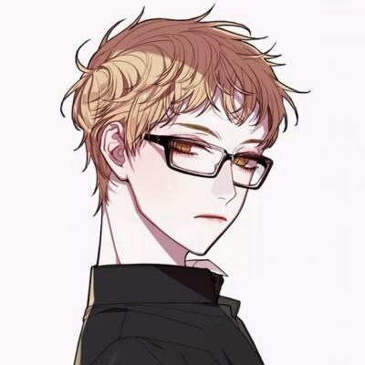 动漫情头一男一女高冷霸气_WWW.QQYA.COM