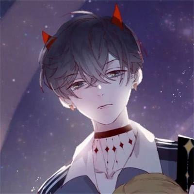 动漫高冷霸气情侣头像_WWW.QQYA.COM