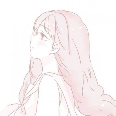 二次元粉色系情侣头像_WWW.QQYA.COM