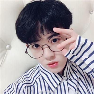 粉色头像男_WWW.QQYA.COM