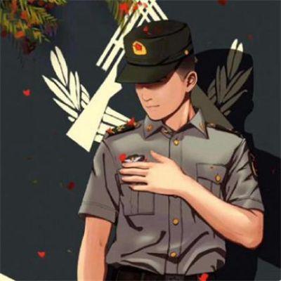 适合军人的头像_WWW.QQYA.COM