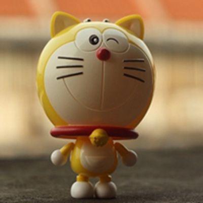 可爱的叮当猫头像图片大全_WWW.QQYA.COM