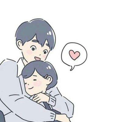 双人卡通情侣头像图片一人一张_WWW.QQYA.COM