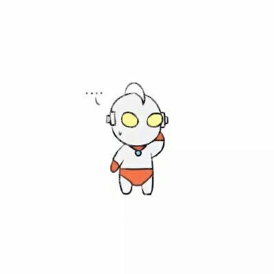 奥特曼小怪兽情侣头像_WWW.QQYA.COM