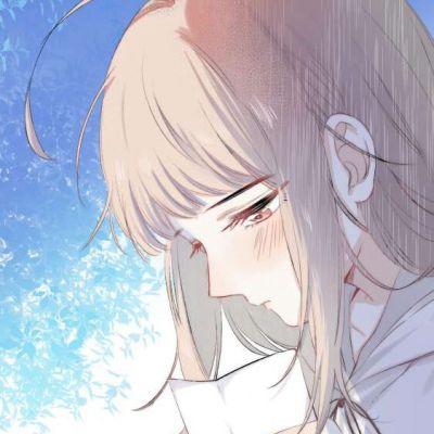 女生动漫头像侧脸_WWW.QQYA.COM