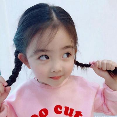 高清搞怪的可爱小女孩萌萌哒头像图片_WWW.QQYA.COM