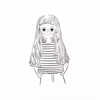情侣头像森系意境手绘精选_WWW.QQYA.COM
