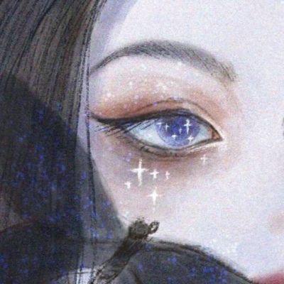 伤感眼睛流泪头像_WWW.QQYA.COM