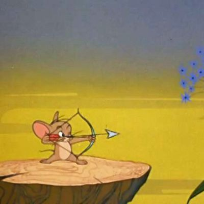 猫和老鼠情头一左一右_WWW.QQYA.COM
