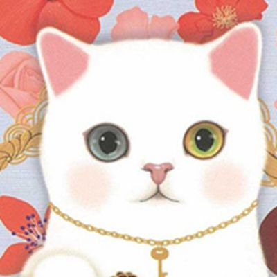 猫动漫头像图片大全_WWW.QQYA.COM