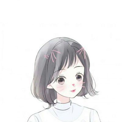 手绘女生头像唯美气质_WWW.QQYA.COM