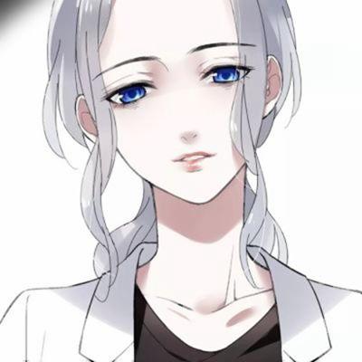 高清头像高冷动漫女生图片_WWW.QQYA.COM