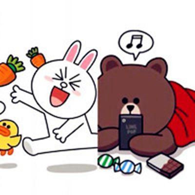 卡通微信聊天背景头像图片_WWW.QQYA.COM