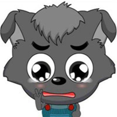 小灰灰可爱图片头像大全_WWW.QQYA.COM