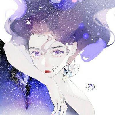 动漫女生唯美长发头像大全_WWW.QQYA.COM