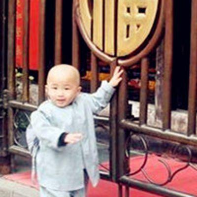 小和尚真人头像图片_WWW.QQYA.COM