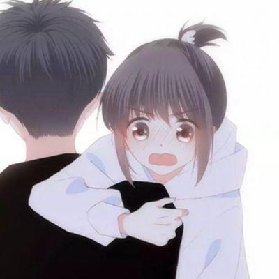 怦然心动双人动漫情侣头像图片_WWW.QQYA.COM