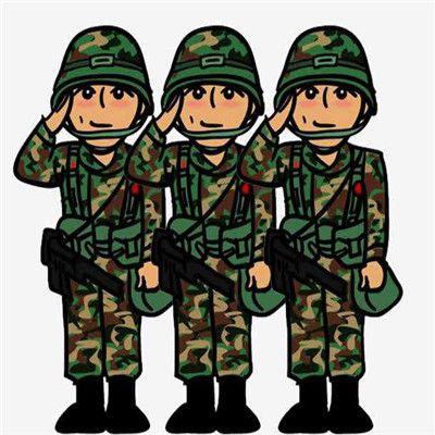 卡通军人手机微信头像图片_WWW.QQYA.COM