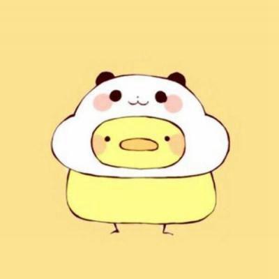 情头动漫一男一女可爱_WWW.QQYA.COM