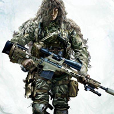 狙击手幽灵战士游戏微信头像图片高清的_WWW.QQYA.COM
