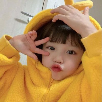 网红萌娃头像可爱女生2021_WWW.QQYA.COM