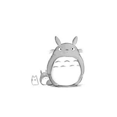 龙猫头像高清图片_WWW.QQYA.COM