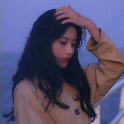 侧面女生头像图片大全_WWW.QQYA.COM