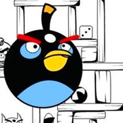 可爱愤怒的小鸟微信头像图片大全_WWW.QQYA.COM