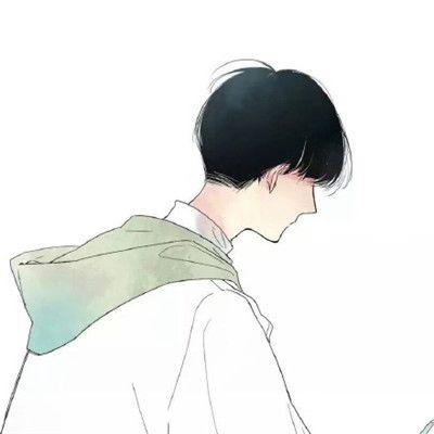 动漫男生背影头像_WWW.QQYA.COM