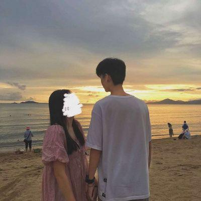 微信头像双人情侣真人高清图片_WWW.QQYA.COM