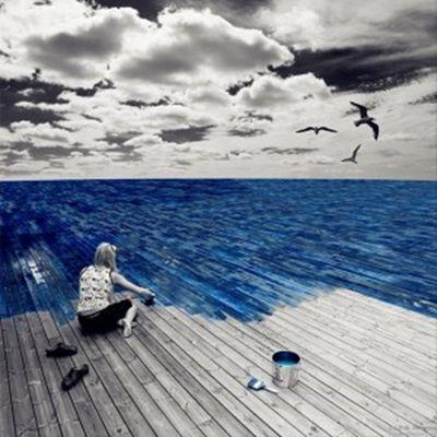 一个人的头像孤独寂寞_WWW.QQYA.COM