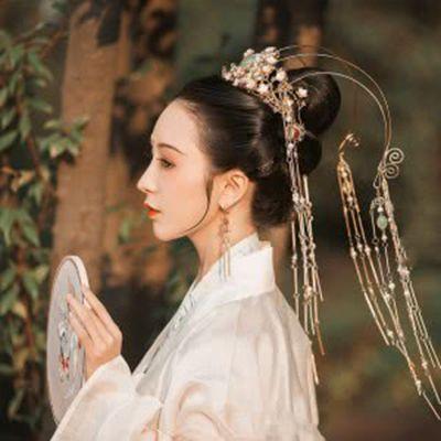 唯美古典美女头像图片_WWW.QQYA.COM